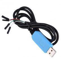 PL2303TA USB-TTL Serial Debug kábel / Konzol kábel (100cm) WinXP/7/8/10