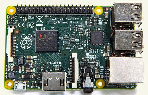 Raspberry Pi 2 - Model B - ARMv7 - 1G RAM