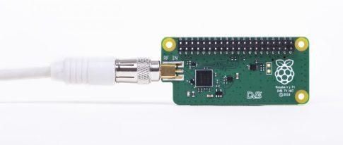 Raspberry PI TV uHAT tuner - DVB-T és DVB-T2 digitális TV adásokhoz