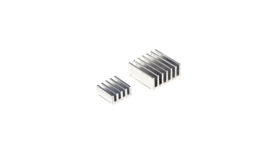 Alumínium hűtőborda készlet Raspberry PI2 / PI 3-hoz