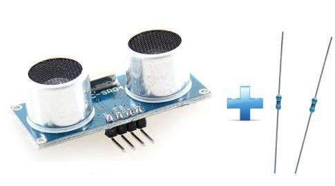 Ultrahangos távolságmérő Raspberry PI-hez + ajándék extrák