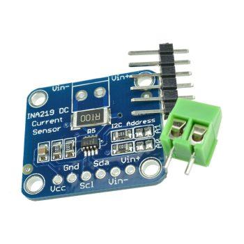 Áram, feszültség és teljesítmény mérő szenzor I2C interfésszel - INA219B DC26V ±3.2A Max