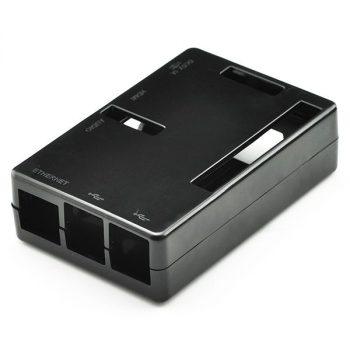Pi Shell ház - Fekete Raspberry PI Model B+