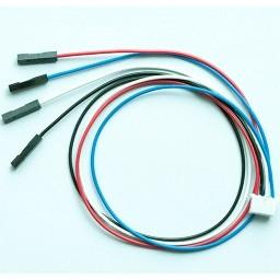 I2C kábel - 4 vezetékes 4 polusú 2mm anya csatlakozóval -  Raspberry PI-hez