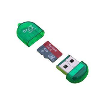 USB 2.0 MicroSD kártyaolvasó / író