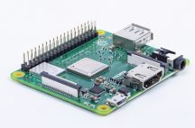 Raspberry Pi 3 Model A+ 64bit 1.4GHz Quad-Core / Bluetooth4.2 BLE / 802.11 b/g/n/ac WIFI - 512MB