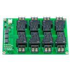 RL812L - I2C Relé 12V 30A PCF8574