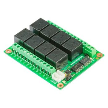 RL824M - I2C Relé 24V 10A PCF8574