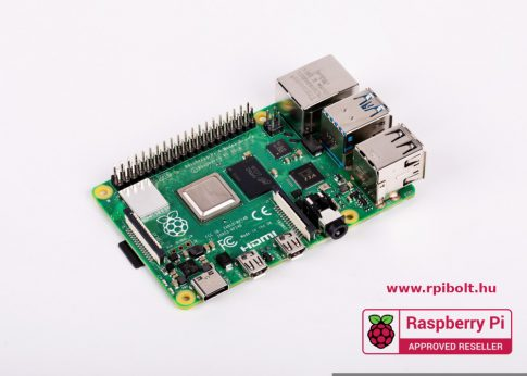 Raspberry Pi 4 Model B / 4GB  - 64bit 1.5GHz Quad-Core / Bluetooth5 BLE / 802.11 b/g/n/ac WIFI / Gigabit Ethernet / Dual 4K micro HDMI