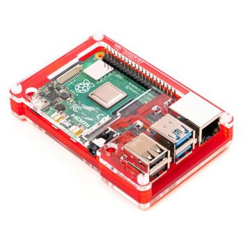 Pibow Coupé 4 ház (Raspberry PI-4B)