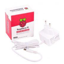 Hivatalos 5.1V 3A USB-C tápegység Raspberry PI-4B-hez - EUW
