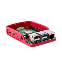 Hivatalos Raspberry PI ház - Raspberry PI 4B-hez Fehér/piros