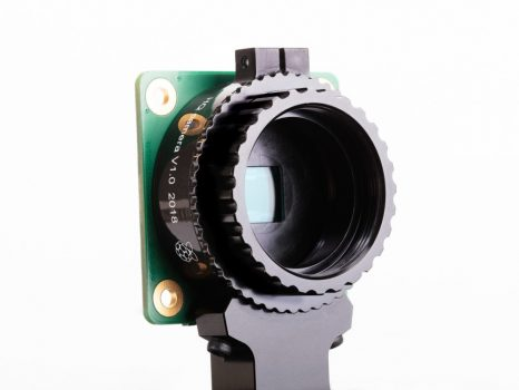 Raspberry Pi High Quality Camera - HQ kamera - Sony IMX477 - 12 MP szenzor - C és CS típusú objektív illesztés