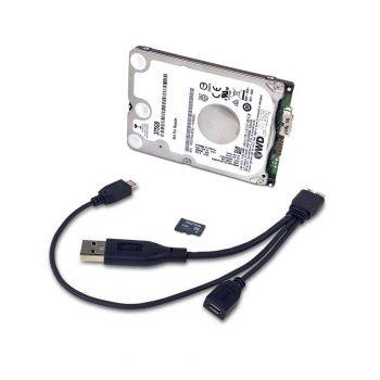 WD PiDrive 375GB Foundation Edition - ajándék microSD-vel és WD PiDrive kábellel USB3.0