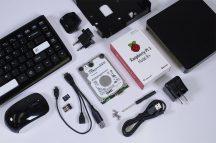 WDLAB 375GB RASPBERRY PI3B PLUS csomag - PI3B+ / WD PIDRIVE 375 GB / WIRELESS bill. egér / Multiboot