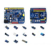 UNO PLUS Szenzor csomag - 13 féle érzékelő Arduino kompatibilis UNO PLUS vezérlővel
