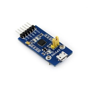 USB 2.0 - UART TTL 3.3V / 5V Serial konverter CP2102 - USB micro - kiegészítő extrákkal