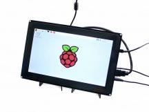 10.1 inch HDMI LCD 1024x600 kapacitív érintőkijelző kerettel