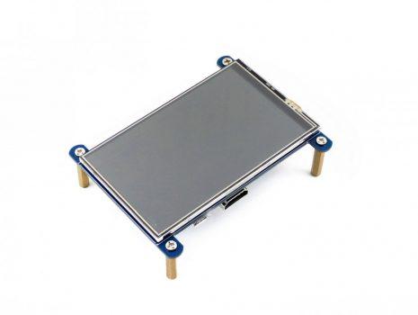 """4""""  IPS, 800×480, érintőkijelző - HDMI"""