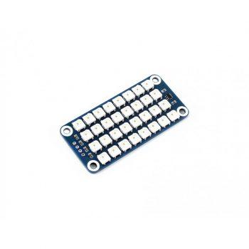 4 × 8 RGB LED HAT Raspberry Pi-hez - WS2812B