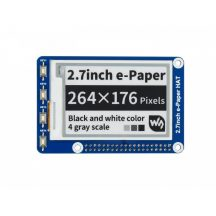 2.7inch E-Ink display HAT - 264x176 felbontású  Raspberry Pi-hez