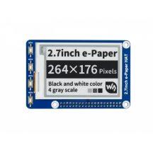 2.7inch E-Ink display HAT - 264x176 felbontású  Raspberry Pi-hez