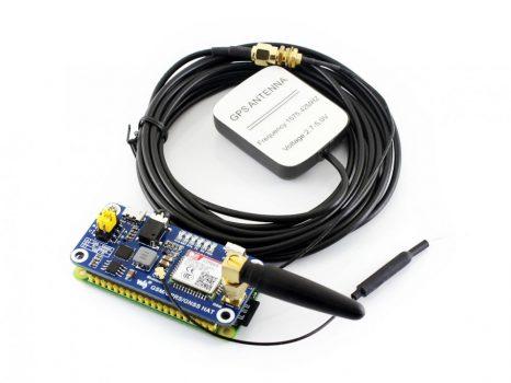 GSM/GPRS/GPS-GNSS/Bluetooth Navi-HAT Raspberry Pi-hez ajándék antennákkal