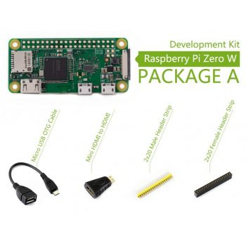 Raspberry Pi Zero W (built-in WiFi) Development Kit - Basic csomag