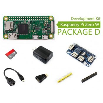 Raspberry PI Zero W - USB Development Kit