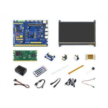 "Raspberry Pi Compute Module 3 Development Kit - CM3 IO Board / 7"" HDMI LCD / DS18B20 / IR Remote Controller"