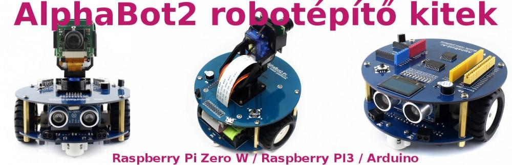 Alphabot2 Robotépítő Kitek