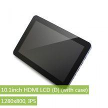 10.1inch HDMI, 1280x800, IPS kapacitív érintőkijelző, dual HDMI bemenet, USB ki-/bemenet, hangszóró,  távirányítóval