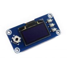 1.3inch OLED Raspberry Pi display HAT, 128x64 pixel, SPI/I2C interface