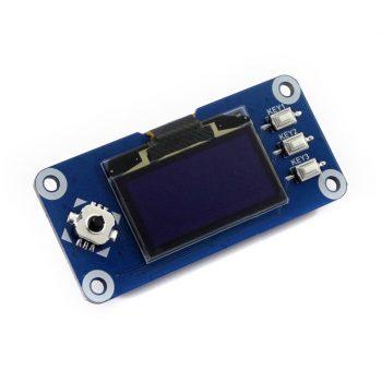 1.3inch OLED Raspberry Pi display HAT, 128x64 pixel, SPI/I2C interface