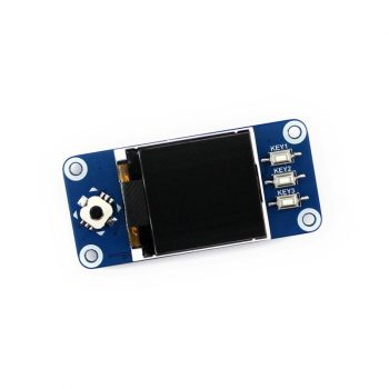 1.44inch LCD Raspberry Pi display HAT, 128x128 pixels, SPI interface