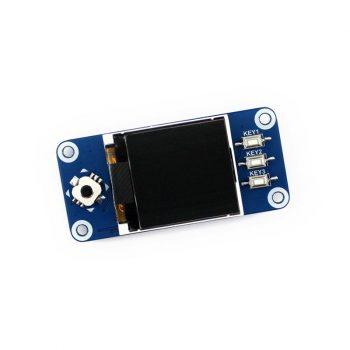 1.44inch LCD Raspberry Pi display HAT, 128x128 pixels, SPI interface
