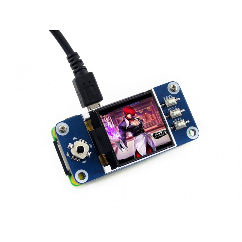 1.44inch LCD Raspberry Pi display HAT, 128x128 pixel