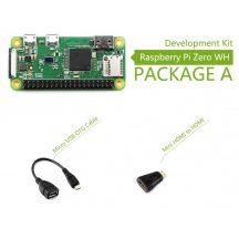 Raspberry Pi Zero WH (built-in WiFi) Development Kit - Basic csomag