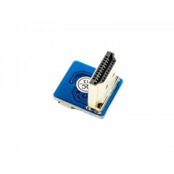 DIY HDMI Cable: Right-angle HDMI Plug Adapter - Szereld magad HDMI kábel adapter - derékszögű