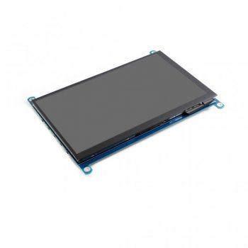 7inch HDMI LCD, IPS 1024x600 fizikai, 1920x1080 virtuális felbontás / OSD/ Audio