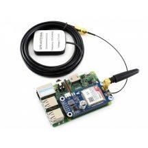 NB-IoT / eMTC / EDGE / GPRS / GNSS (GPS,GLONASS,BeiDou és Galileo) HAT  Raspberry Pi-hez, SIM7000E chippel