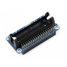 Li-ion akkumulátor HAT Raspberry Pi-hez, 5V szabályozott kimenettel, kétirányú gyors töltéssel 14500 akkuhoz
