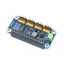 Servo Driver HAT  Raspberry Pi-hez, 16-Channel, 12-bit, I2C