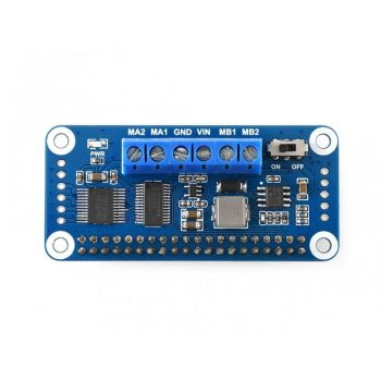 Motor Driver HAT  Raspberry Pi-hez, I2C Interface