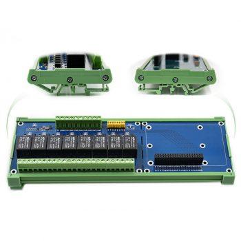 RPi relé kártya - 8 csatornás - Smart Home IoT megoldásokhoz
