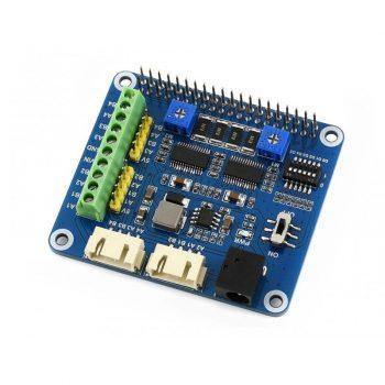 Stepper Motor HAT Raspberry Pi-hez - Léptetőmotor vezérlő 2 motorhoz