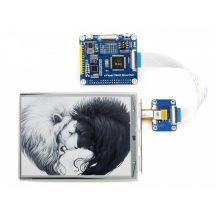6inch e-Paper HAT Raspberry Pi-hez, 800x600 felbontás, IT8951 controller, USB/SPI/I80/I2C interface