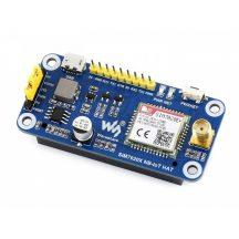 NB-IoT mobilkommunikációs HAT modul  Raspberry Pi-hez, SIM7020E FDD-LTE sávok, LWM2M/COAP/MQTT/TCP/UDP/HTTP/HTTPS támogatás
