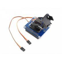 2 szabadságfokú forgó/billenő (PAN-TILT) HAT modul   Raspberry Pi-hez szervómotorokkal PWM vezérlővel és fényérzékelő szenzorral