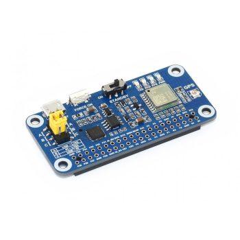 L76X Multi-GNSS HAT - műholdas  helymeghatározó  Raspberry Pi-hez ( GPS, BDS, QZSS ) antennával